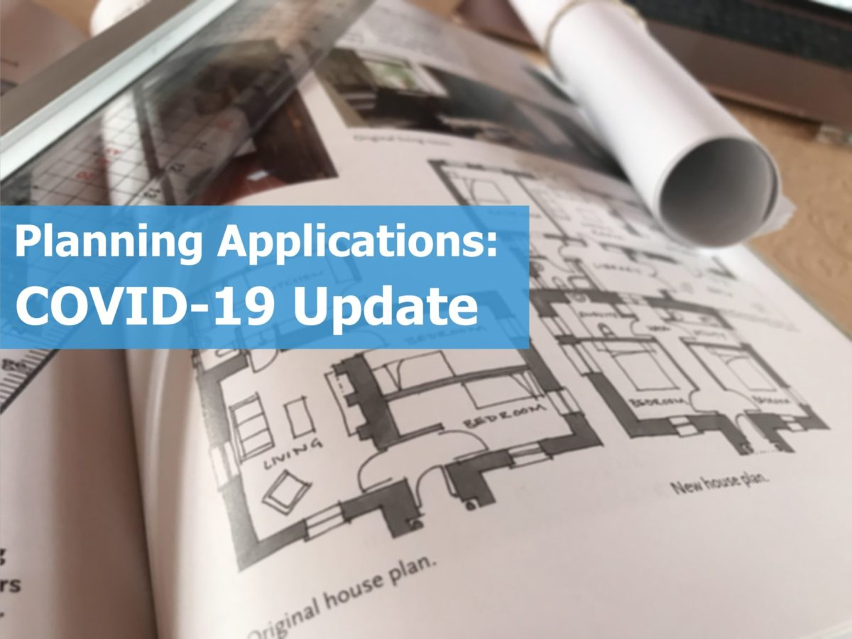 Planning Applications - COVID-19 Update