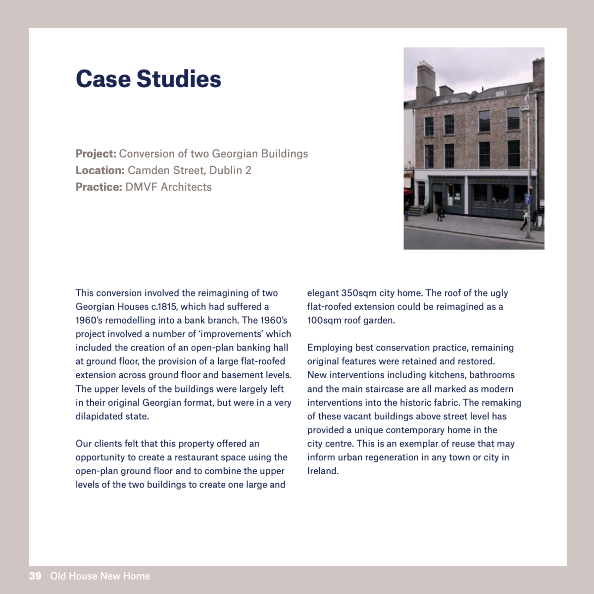 RIAI Old House New Home Publication